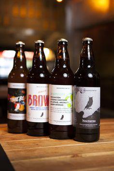 Insurgente Brewing: Tiniebla, Brown, La Lupulosa, Nocturna.