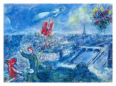Paris by Chagall