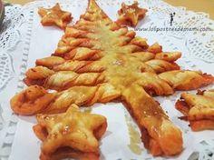 Se acerca la Navidad y os traemos otra receta muy facilita, esta vez para poder poner de aperitivo... Una receta fácil, rica, y muy resultona... Es un Árb