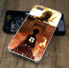 Attack on Titan Case for iPhone Case,Ipod Touch Case, Samsung Galaxy Case, Xperia Case, HTC Cases Available Rubber Plastic
