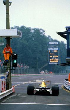 Riccardo Patrese - Italian GP - #Monza 1988 - Williams FW12 Judd