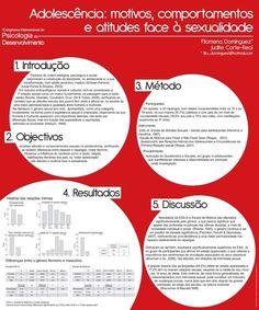 Modern scientific poster design
