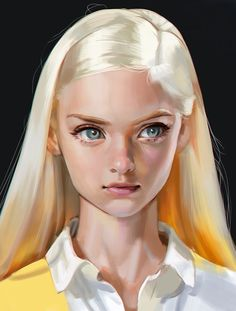 Studies by Seung Hee Han - The Art Showcase Digital Art Digital Art Girl, Digital Portrait, Portrait Art, Art Anime, Anime Art Girl, Hee Man, Art Sketches, Art Drawings, Drawing Faces