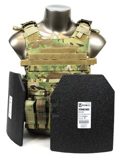 AR500 Armor® Quick Release Carrier Package with Body Armor - MC