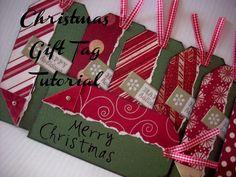 DIY Christmas Gift Tags Tutorial