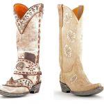 Lighten Up! White Old Gringo Boots for Spring