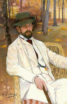 """Pintor español Ignacio Zuloaga (1870-1945) """"El Gran Vasco"""" Ignacio Zuloaga viene de cinco generaciones de pintores: su bisabuelo Don Blas Zu..."""