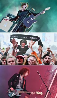 Catfish and the Bottlemen churning out hit after hit to the delight of one young fan at Glastonbury's Other Stage!   http://www.bbc.co.uk/news/entertainment-arts-36443119 #music #livemusic