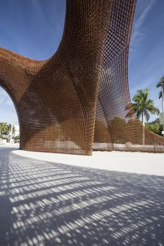 ShoP Architects exhibited Flotsam&Jetsam at Design Miami-world's first largest 3D-printed object