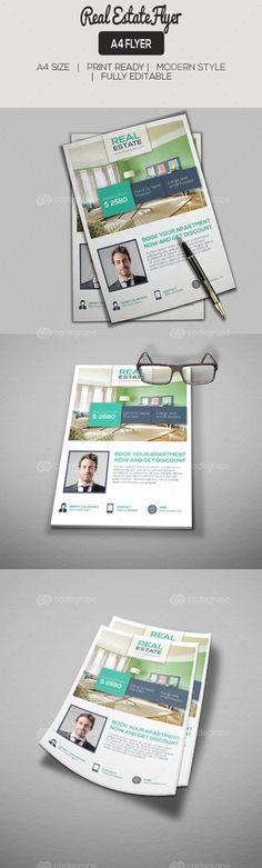 Real Estate Flyer - http://www.codegrape.com/item/real-estate-flyer/7365