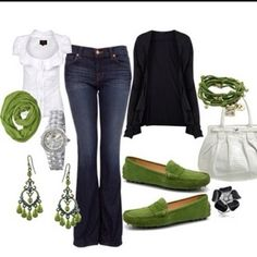 I think I need this outfit for St. Pats Day.