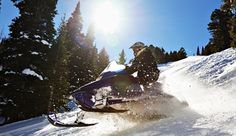 Discover winter activities in Lake Tahoe. While skiing and snowboarding are the go-to activities in this outdoorsy town, there are countless other ways to spend a day on the slopes. Lake Tahoe Winter, South Lake Tahoe, Yosemite National Park, National Parks, Snowmobile Tours, Alpine Adventure, Nevada Mountains, Dashing Through The Snow, Mountain Trails