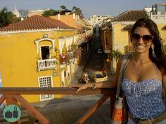 Cartagena sua linda!  Registro de 2015, no centro histórico da cidade, ou Ciudad Amurallada.    #trip #viagem #passageira #traveller #tripping #road #fly #viajantes #mochilao #mochileiros #turistar #turistando #turistas #rsbloggers #blogdeviagem #travelblog #travelblogger