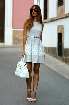 Kuka & Chic Dress Dress (Kuka & Chic) Here , Sandals (Mango Old) , Leather bag (Kuka & Chic) Here Fashion Trend by Like a Princess