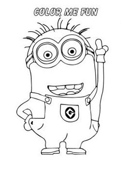 25 'Despicable Me 2' Coloring Pages For Your Naughty Kids