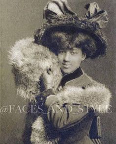 _____ #EdwardianSpring?  It's still cold in some places !! ❄️💨 Ask @ agzamova.nastena!  😂 Wear a #muff!  Early # 1900s USA ~~~~~~~ Edwardian Spring ??  Somewhere still cold!  ❄️💨 Ask @ agzamova.nastena! 😂 And with warmer muff about # 1900 # US _________ #EdwardianSpring #Friends_of_Faces_and_Style _________ #EdwardianStyle #EdwardianBeauty #gibsonGirl #furmuff #africanamerican #africanamericanhistory #africanamericanwomen #vintagelife #vintagelove #vintagestyle #antiquephoto…