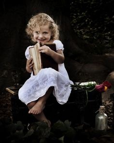 once upon a time storybook fairy tale photography shoot