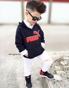 Engjiandy 🍀 —: - Saturday It is ✌🏼- Baby Outfits, Outfits Niños, Little Boy Outfits, Little Boy Fashion, Kids Fashion Boy, Toddler Boy Outfits, Toddler Fashion, Kids Outfits, Baby Boy Dress