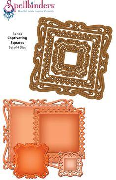 Captivating Squares Dies