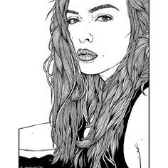 drawing portrait based on @marispetra #portraitsketch #hair #capelli #brunettegirl #portraits #ritratto #modelportrait #modella #disegno #drawing #lineart #blackandwhiteart #beautifulgirl #prettygirls #europeangirl #raffaelemarinetti #sketchbook #beautifulface #artisticportrait #illustration #illustrazione #sexygirl