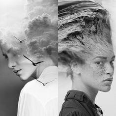 L\\\'artiste et designer espagnol Antonio Mora dévoile toute sa créativité dans ses portraits photo montages ci-dessous. Il récupère à partir de magazines, de sites internet et de bases de données, des portraits et des paysages qu\\\'il fait fusionner pour ne donner qu\\\'une seule image. On retrouve alors l\\\'association nature/Homme qu\\\'il ...