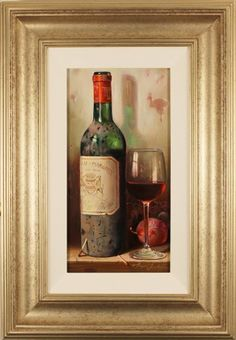 Chateau Margaux 1900 by Raymond Campbell - this is really beautiful!