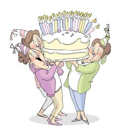 Art Impressions Girlfriends Cling Rubber Stamp Giant Cake 1pc at Joann.com