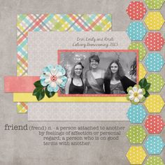 Friend Kit: Spring Time by Designs by Connie Prince Template: Designs by Connie Prince Wordart: Wordart World by Jennifer Journaling font: J...