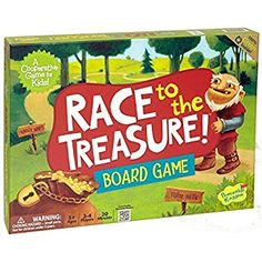 Amazon.com: Peaceable Kingdom Race to the Treasure! Award Winning Beat the Ogre Cooperative Game for Kids: Toys & Games
