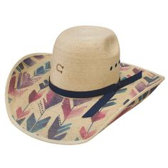 Charlie 1 Horse Straight Arrow Palm Leaf Cowgirl Hat 9731366e242a
