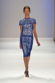 Tadashi Shoji - Runway - Spring 2013 Mercedes-Benz Fashion Week
