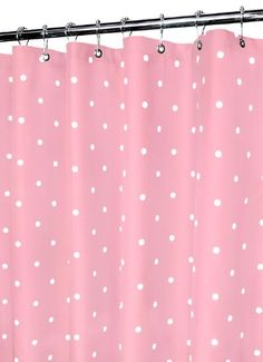 Park B Smith Classic Polka Dot Shower Curtain Light PunchWhite *** Continue to the product at the image link.