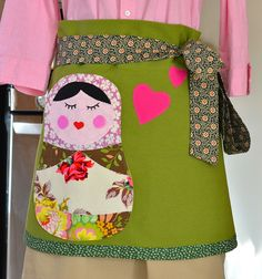 Matryoshka apron by Snappy Shop on Flickr (they are also on Etsy)