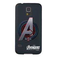 Black Widow Themed Avengers Logo Galaxy S5 Cases | Avengers Age of Ultron #Avengers