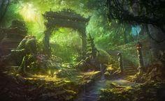 arch_staircase_forest_overgrown_debris_63087_1920x1180.jpg (1920×1180)