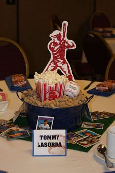 Baseball Fundraiser Party Ideas | Photo 3 of 7 | Catch My Party