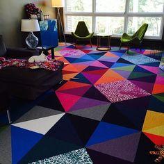 #myflor beautiful FLOR carpet tiles