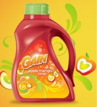 Gain Detergent Coupon  Save $1.00/1 Gain Apple Mango