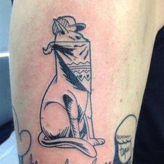 ... #chat #cat #blackcat #thugcat #black #blxckink #blackwork #blxckwork #tatoo #tatouage #tattoos #tattooartist #tattooed #tattoo #tats #thug #animal #ink ...