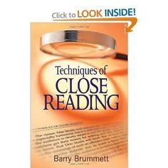 Techniques of Close Reading: Barry S. Brummett: 9781412972659: Amazon.com: Books