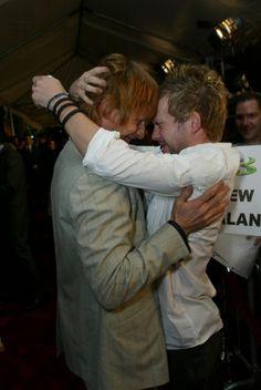 Viggo Mortensen and Dominic Monaghan. I love this!!