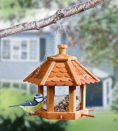 Dřevěné krmítko pro ptáky | VELKÝ KOŠÍK