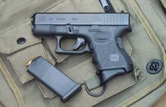 My New Glock 26 (g4). I love this guN! Small enough to conceal on your body, yet it packs a punch. 10 + 1. Reliable, accurate, powerful. 1st day at the range and at 23 yards i put every bullet in the kill zone. Nice...