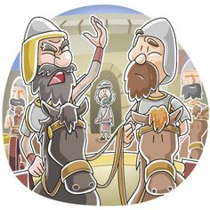 Naaman was commander of the Army, wealthy, and talented soldier. He had everything going for him, except leprosy. While leprosy may have been a burden to Naaman, it brought him to Israel to the p… Preschool Bible Lessons, Bible Lessons For Kids, Bible For Kids, Kids Sunday School Lessons, Sunday School Crafts, Family Bible Study, Bible Games, Kids Church, Church Ideas