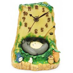My Neighbor Totoro Totoro's Bed Table Clock - Benelic Limited - My Neighbor Totoro - Clocks at Entertainment Earth
