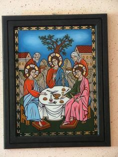 Jesus Christ Images, Sacred Art, Ikon, Projects To Try, Painting, Painting Art, Paintings, Painted Canvas, Icons