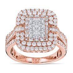 Diamantring Pavee mit 2.40 Karat Diamanten von www.juwelierhausabt.de Die Diamanten in diesem Diamantring haben die Reinheit VS2-SI1 und die Diamantfarbe G-H (Top Wesselton). Dieser Diamantring ist aus 585er Rosegold gefertigt und für nur 4990.00 Euro bei Juwelier Abt in Dortmund erhältlich.