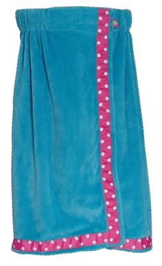 Blue Mint Minky Bathwrap|Kids Size