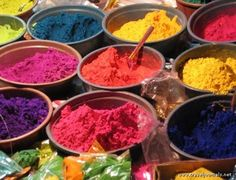 Holi, Festival of Colours--reminds me of childhood in singapore Holi Festival Of Colours, Holi Colors, Over The Rainbow, Color Inspiration, Food, Color Palettes, Art Lessons, Mumbai, Singapore