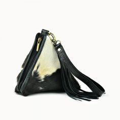 f9ddf0f61cd Doenya Leren Tasje 'Souad' (zwart) - 2018 Collectie Leather Bags, Sling